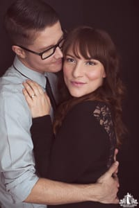 Portraits of transgender ftm during a couples portrait session by Vancouver contemporary portrait photographer Angela McConnell