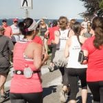 Team VOKRA runners participating in Scotia Bank Half Marathon in Vancouver