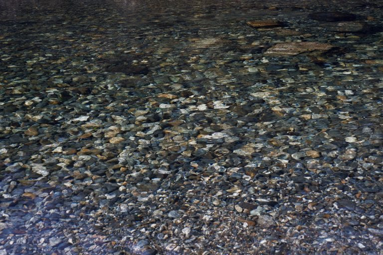 Image of stones in a riverbed at Golden Ears Provincial Park