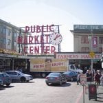 Image of Pike Place Market in downtown Seattle