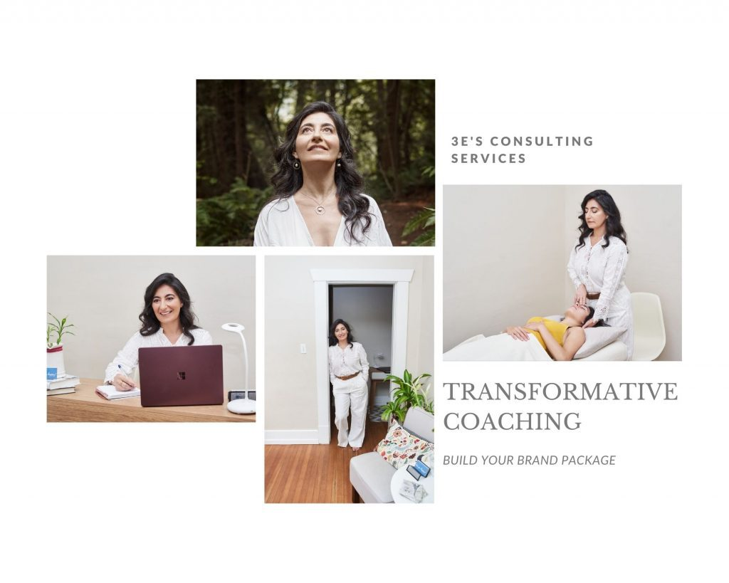 Small business branding photography examples for a transformational coach in Vancouver by Photography by Angela McConnell