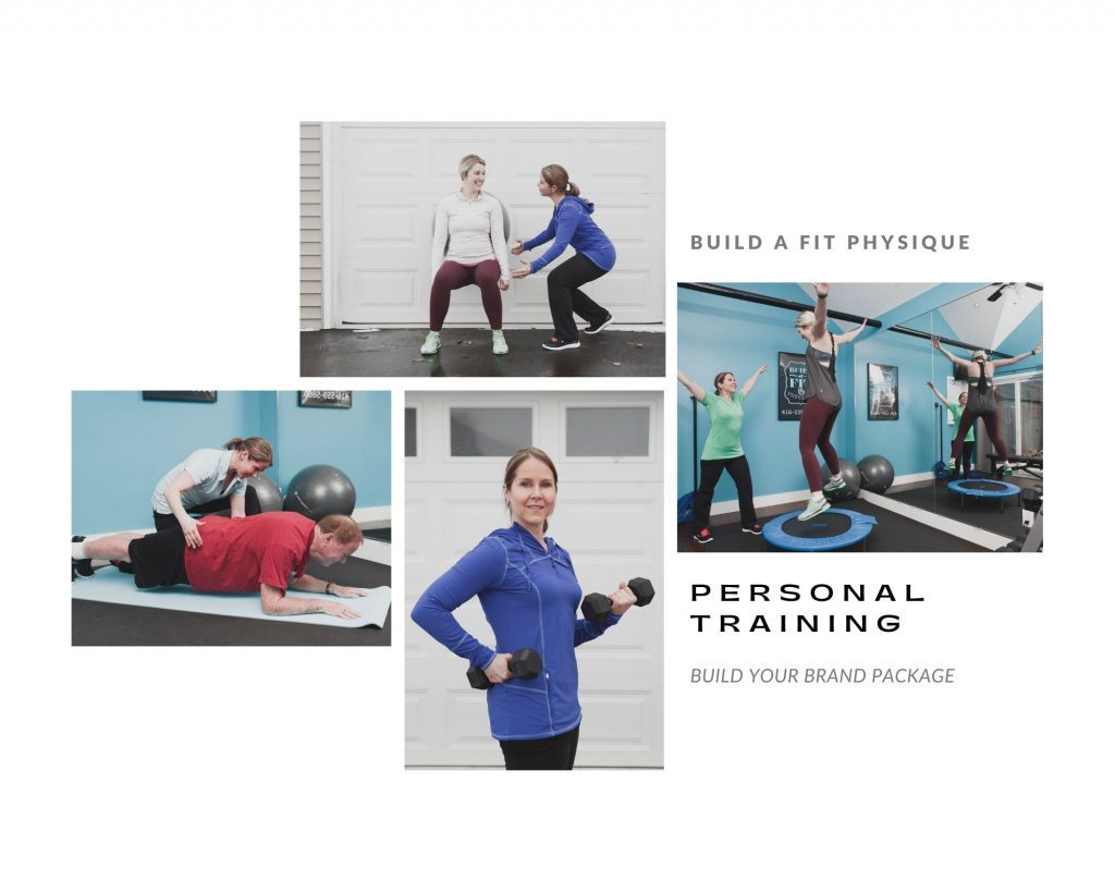 Small business branding photography examples for a personal trainer in Vancouver by Photography by Angela McConnell